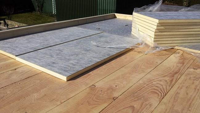 Opbouw plat dak ecosia
