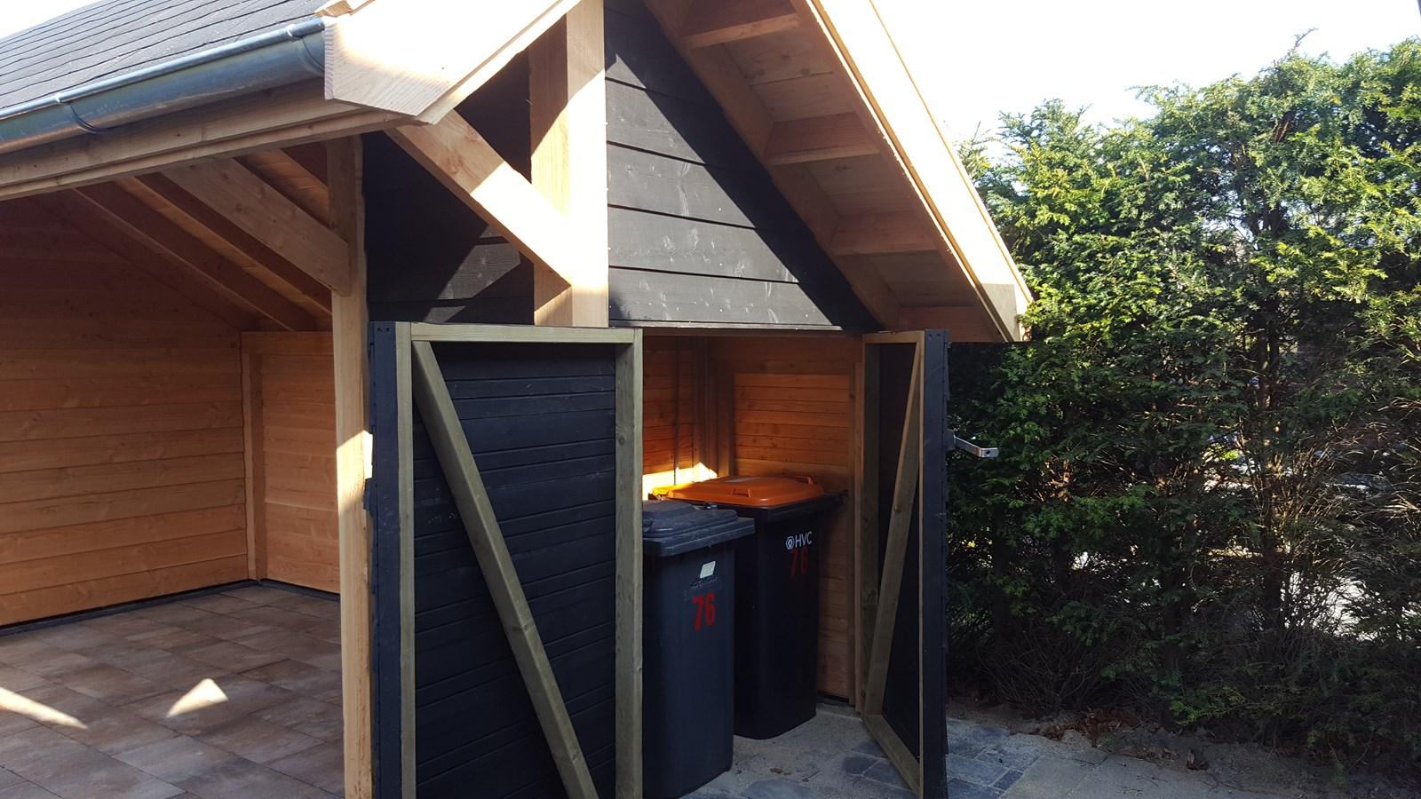 Project kapschuur veranda met berging for Berging met veranda